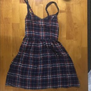 Abercrombie & Fitch Plaid Dress